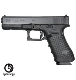 Handgun New Glock 17 Gen 4 MOS, 9mm, 17 rd