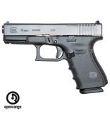 Handgun New Glock 19 Gen 4 MOS, 9mm, 15 rd