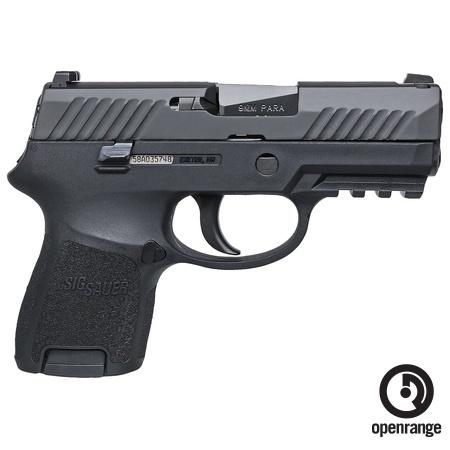 "Sig Sauer P320SCR, Sub Compact, 9mm, 3.6"" Barrel, 12 rd, Night Sights"