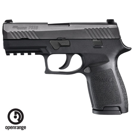 "Sig Sauer P320 Compact, 9mm, 3.9"", Night Sights, 15rd"