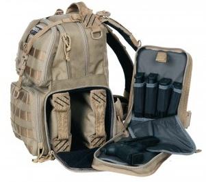 GPS Tactical Range Backpack, Tan