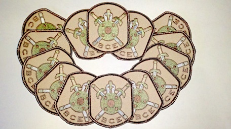 Patches BCE Battle Patch, Multi Cam (CO)