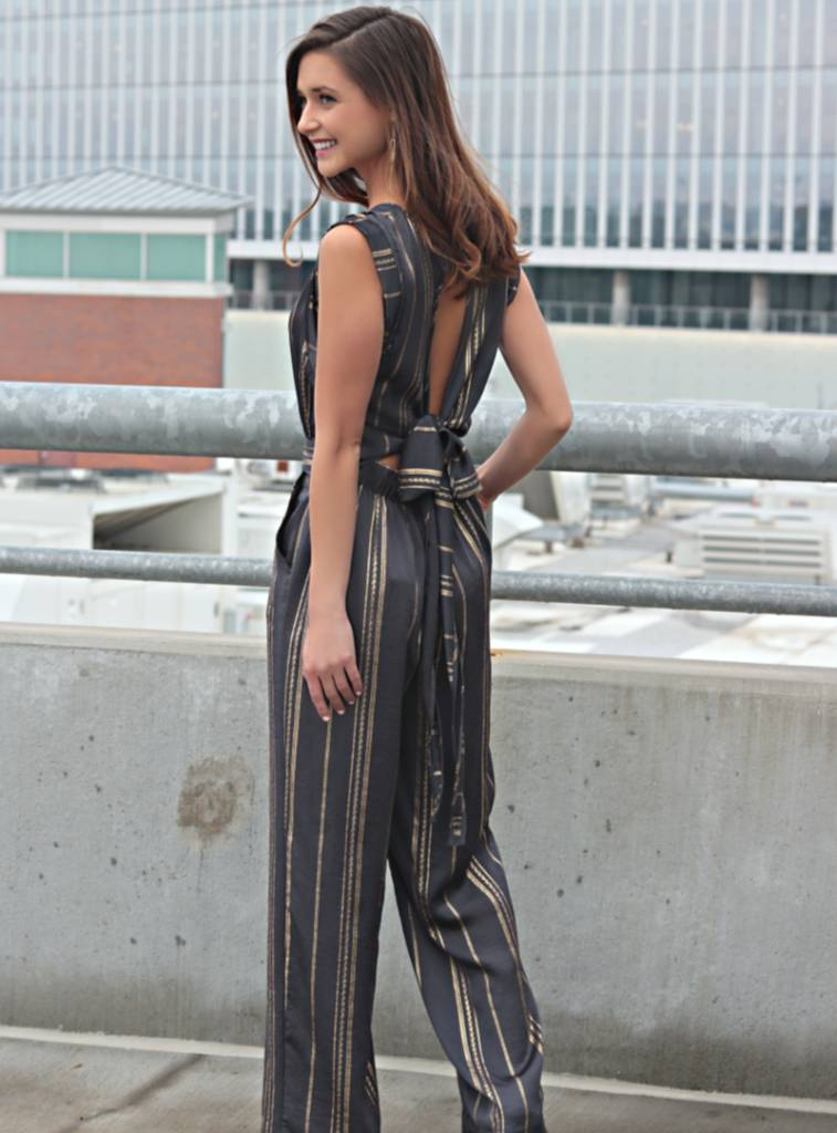 GLITTER IN THE AIR JUMPSUIT