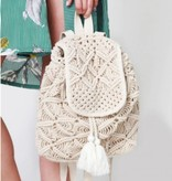 HANDMADE CROCHET BOHO BACKPACK