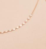 DIAMOND CUT CHOKER LAYERED NECKLACE
