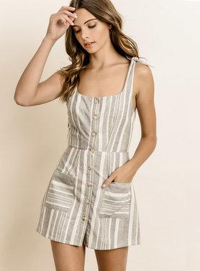 LITTLE MISS STRIPE DRESS