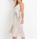 COMPLETELY CHARMED MIDI DRESS
