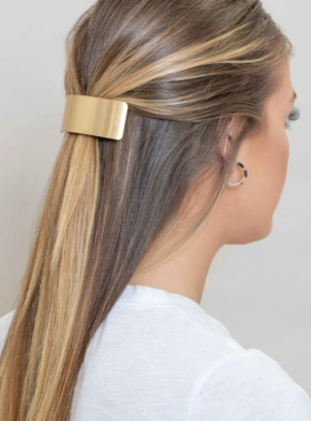 CURVED CAREFREE BARRETTE
