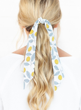 LEMON TWIG HAIR SCARF