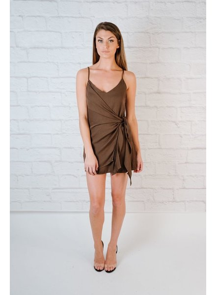 Mini Mini Side Wrap Dress