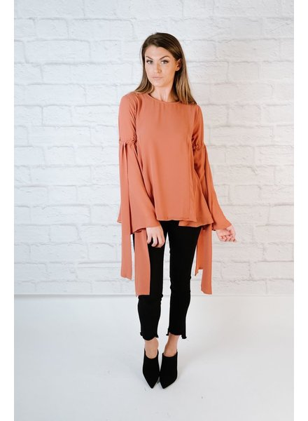 Blouse Bell Sleeve Blouse