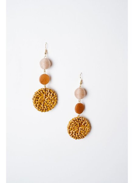 Trend 3 Tiered Earrings