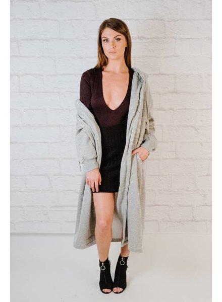 Sweatshirt Grey Sweatshirt Jacket