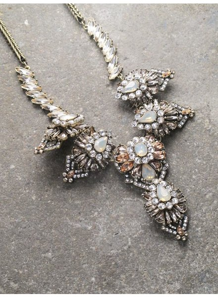 Dressy Plunging statement necklace