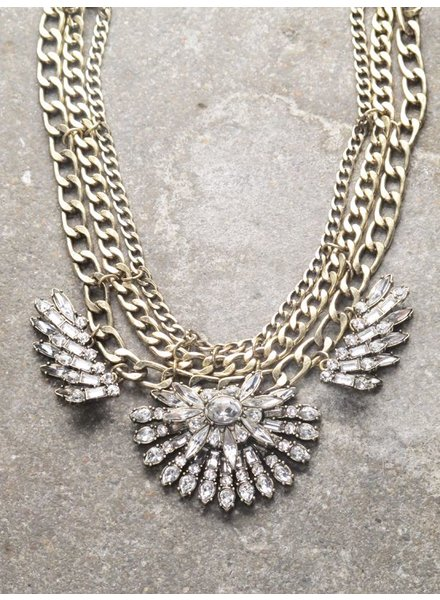 Dressy Antique rhinestone statement