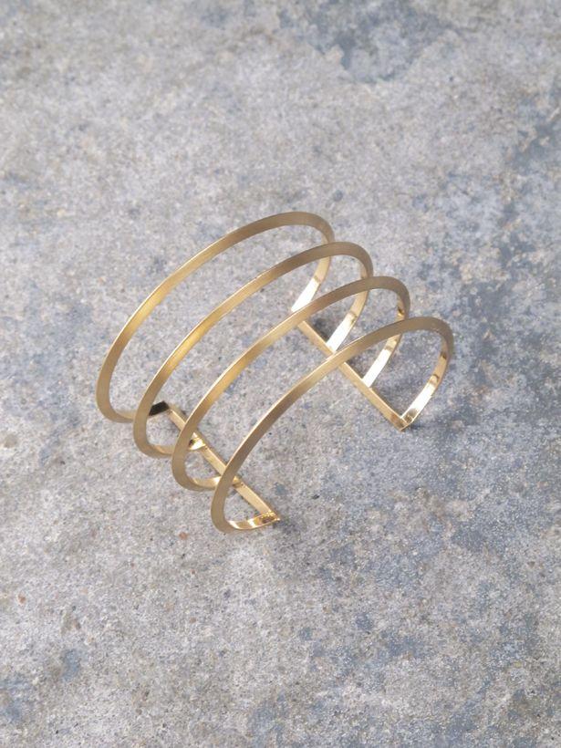 Cuff Simple 4 band cuff