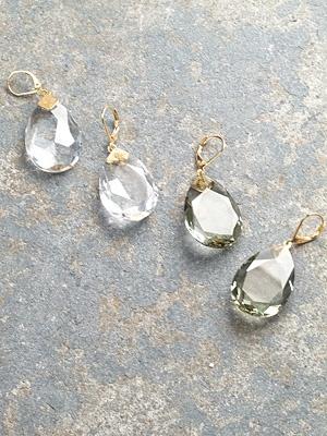 Stone Translucent teardrops