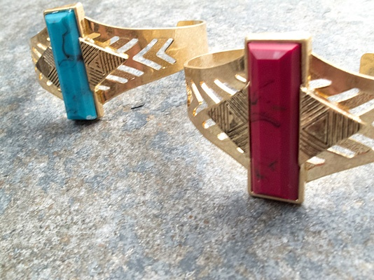 Trend Gold tribal cuff
