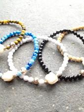 Stone Elephant bracelet *MORE COLORS