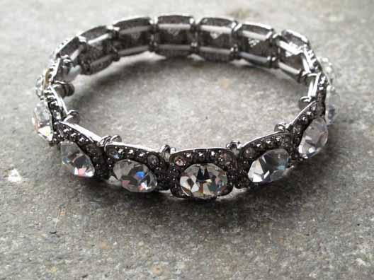 Dressy Mini darkside rhinestone bracelet