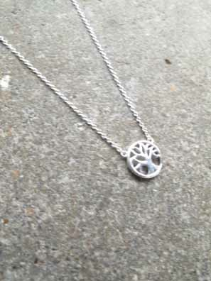 Sterling Sterling tree pendant