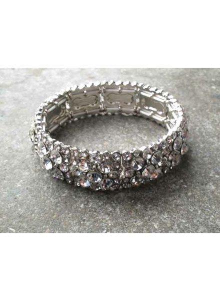 Dressy Allover rhinestone bracelet