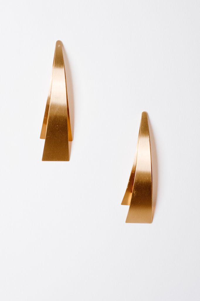 Trend Abstract Drop Earrings