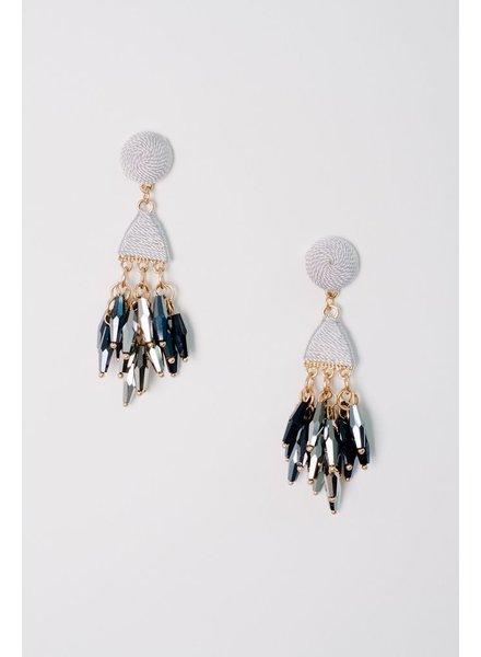 Trend Beaded Drop Earrings