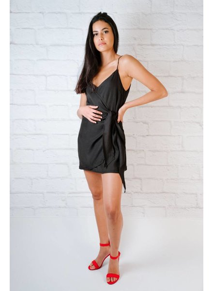 Mini Mini Side Wrap Dress