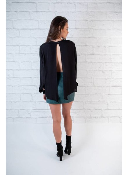 Blouse Slit Back Blouse