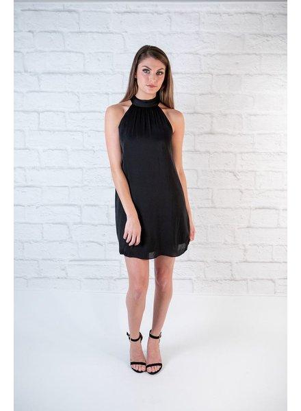 Dressy Mock Neck Dress