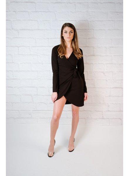 Mini Knot Front Dress