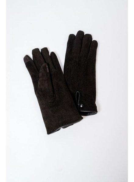 Gloves Black Suede Gloves