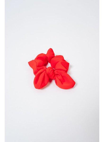 Headwrap Red Bow Scrunchie