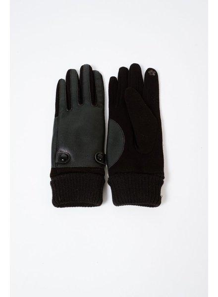 Gloves Black Front Gloves