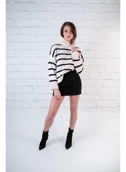 Sweater Nautical Chenille Sweater