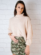 Camoflage Snap Skirt