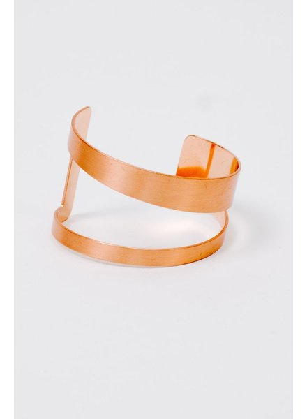 Cuff Rose Gold Cutout Cuff