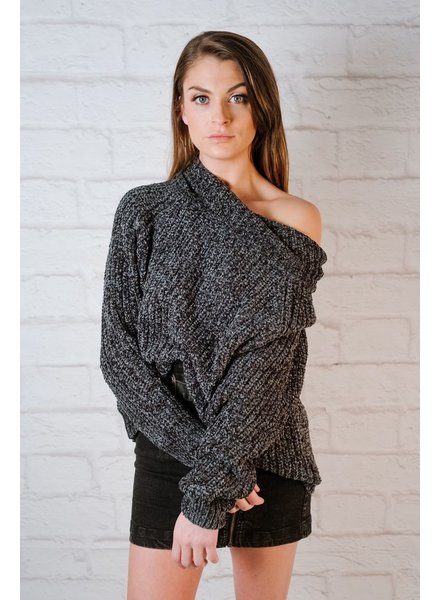 Knit Cowl Neck Knit