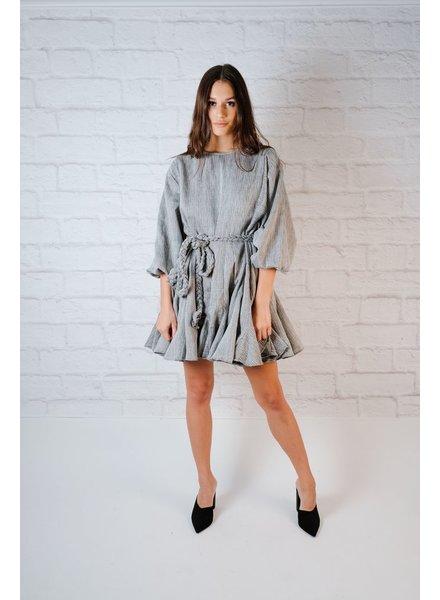 Mini Flare Skirt Dress