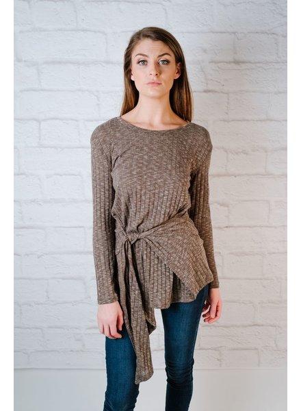 Knit Tie Waist Knit
