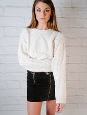 Knit Cable Knit Sweater