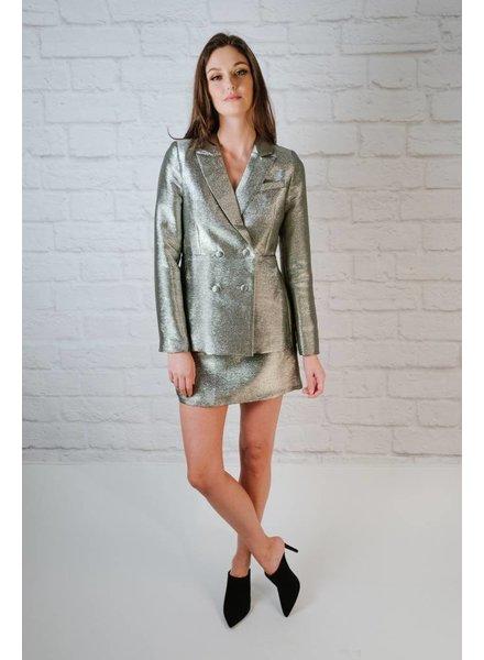 Skirt Silvertoned Skirt