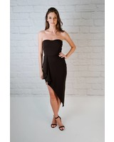 Dressy Black Sweetheart Dress