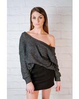 Skirt A-line Black Skirt