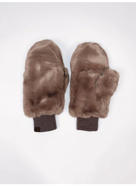 Gloves Faux Fur Mittens