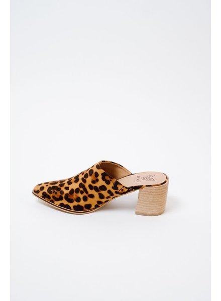 Bootie Leopard Mule