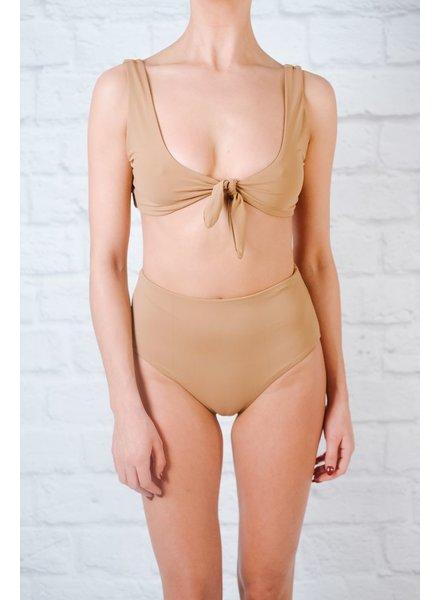 Bikini Mauve seamless high rise bottom