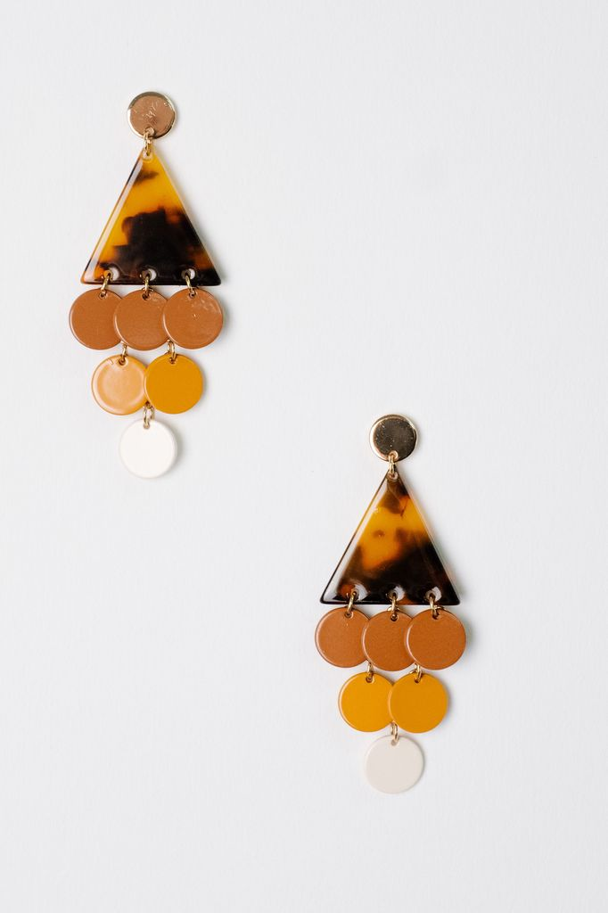 Trend Triangle Dangle Earrings