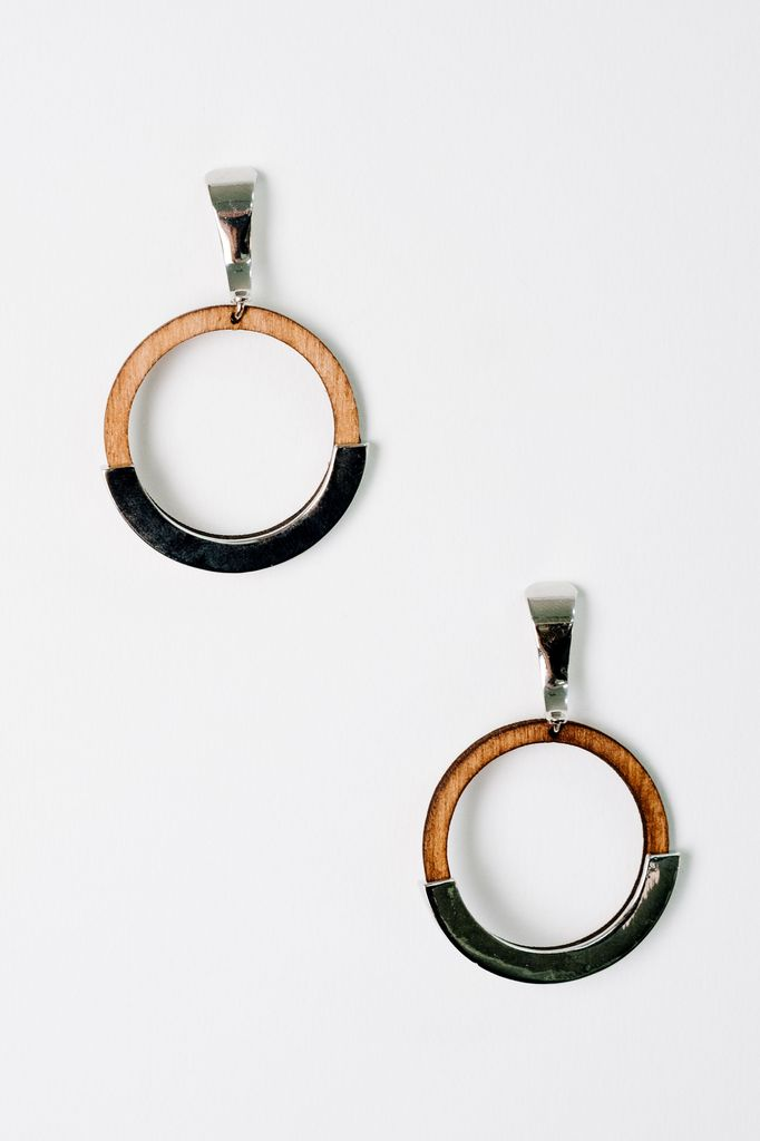 Trend Two-Tone Hoops